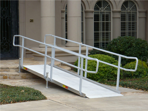Is A Modular Aluminum Wheelchair Ramp The Best Solution