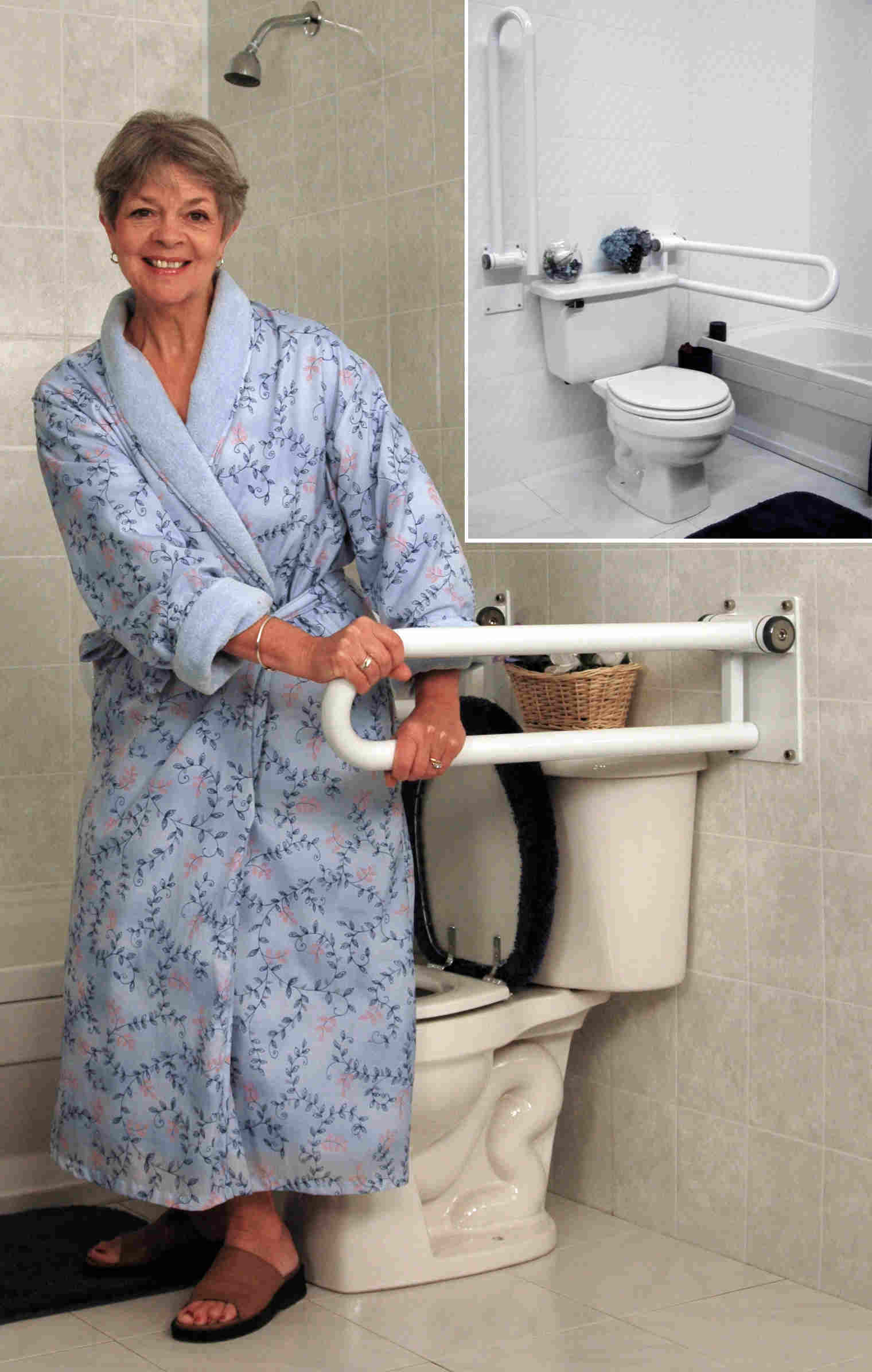 Toilet Grab Bars Access At Home Inc