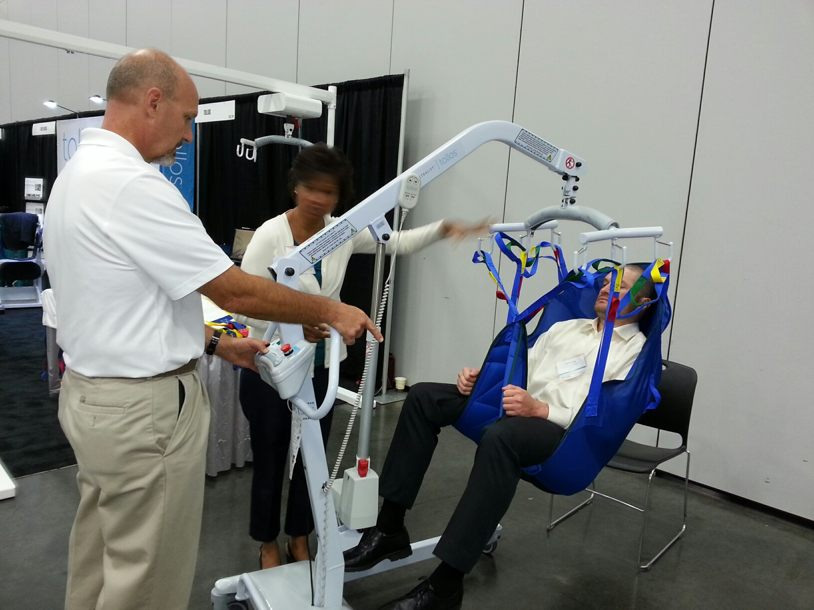 Demonstrated At Healthcare Ergonomics Conf On Safe Patient